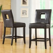 Kingstown Home Breanne 24'' Bar Stool with Cushion (Set of 2)