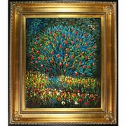 Tori Home Apple Tree I by Klimt Framed Hand Painted Oil on Canvas