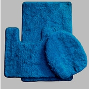 Daniels Bath Luxury 3 Piece Bath Rug Set; Royal Blue