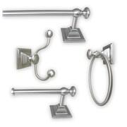 Jollen Home Creation Madison 4 Piece Bathroom Hardware Set; Satin