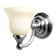 Valsan Kingston 1 Light Vanity Light; Chrome