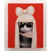 Empire Art Direct Pets Rock  ''GG'' Graphic Art on Wrapped Canvas