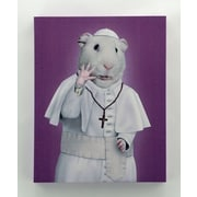 Empire Art Direct Pets Rock  ''Church'' Graphic Art on Wrapped Canvas