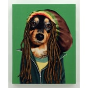 Empire Art Direct Pets Rock  ''Reggae'' Graphic Art on Wrapped Canvas