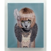 Empire Art Direct Pets Rock  ''Daisy'' Graphic Art on Wrapped Canvas
