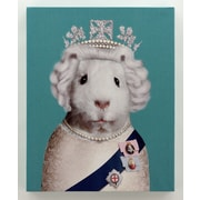 Empire Art Direct Pets Rock  ''HRH'' Graphic Art on Wrapped Canvas