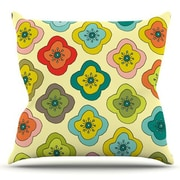 KESS InHouse Forest Bloom by Nicole Ketchum Outdoor Throw Pillow
