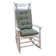 Klear Vu Saturn Rocking Chair Cushion; Celadon