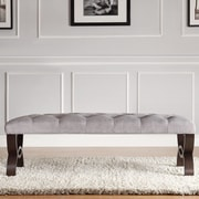 Kingstown Home Silvestre Bentwood Bench