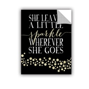 ArtWall Sparkle Gold by Amy Cummings Textual Art; 32'' H x 24'' W x 0.1'' D