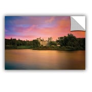 ArtWall Castle At Dusk by Dennis Frates Wall Mural; 32'' H x 48'' W x 0.1'' D
