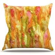 KESS InHouse Walk in the Forest by Rosie Brown Outdoor Throw Pillow