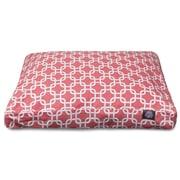 Majestic Pet Links Rectangle Pet Bed w/ Waterproof Denier Base; Small (27'' L x 20'' W)