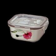 Lock & Lock 15.89 Oz. Square Ceramic Sophie Food Storage Container