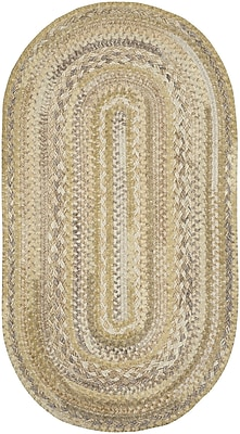 Capel Harborview Natural Area Rug; Oval 2'3'' x 4' WYF078278663448