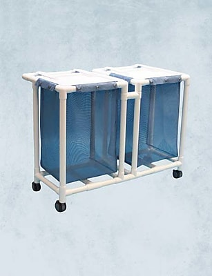 Care Products, Inc. Standard Double Bag Laundry Hamper WYF078278669465