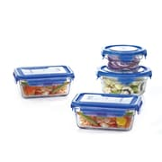 Crover Glasslock 8-Piece Container Set