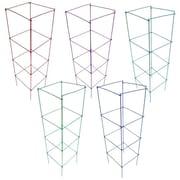 Glamos Wire Square Planter Combo Pack (Set of 5); Blazin Gemz