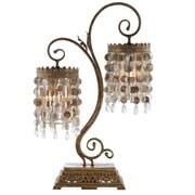 Amita Trading Seashell Frills Twin 32'' Table Lamp
