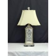 Amita Trading Batik Mirrored 28'' H Table Lamp