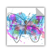 ArtWall Butterfly 7 by Irena Orlov Painting Print; 24'' H x 24'' W x 0.1'' D
