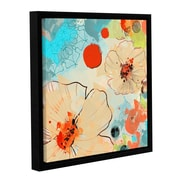 ArtWall Beautiful Flowers I by Irena Orlov Framed Painting Print; 14'' H x 14'' W x 2'' D