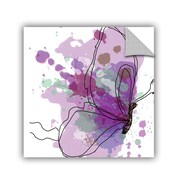 ArtWall Butterfly 10 by Irena Orlov Painting Print; 24'' H x 24'' W x 0.1'' D
