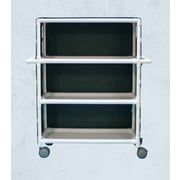 Care Products, Inc. E-Line 3-Shelf Tall Linen Cart w/ Cover