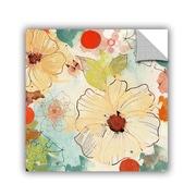 ArtWall Beautiful Flowers II 2 by Irena Orlov Wall Mural; 36'' H x 36'' W x 0.1'' D