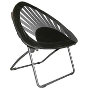 ImpactCanopy Impact Bungee Kids Novelty Chair; Black