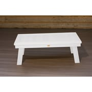Highwood USA highwood  Pocono Deep Seating conversation table ; White