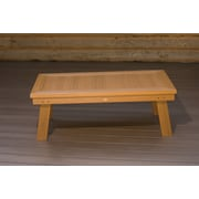 Highwood USA highwood  Pocono Deep Seating conversation table ; Toffee