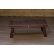Highwood USA highwood  Pocono Deep Seating conversation table ; Weathered Acorn