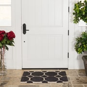 Harbormill Hand-Tufted Charcoal Area Rug; 2' x 3'