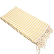 Linum Home Textiles Fun in the Sun Pestemal/Fouta Bath Towel; Sunshine Yellow