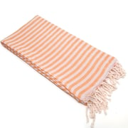 Linum Home Textiles Fun in the Sun Pestemal/Fouta Bath Towel; Melon