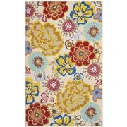 Safavieh Four Seasons Yellow & Blue Area Rug I; 5' x 8'