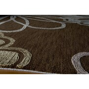 Momeni Sensations Flower Brown Area Rug; 9'6'' x 13'