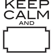 WallPops! Keep Calm Art Kit Dry Erase Wall Decal