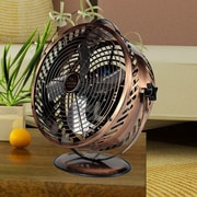 WBM LLC Himalayan Breeze 11'' Table Fan; Bronze Chrome