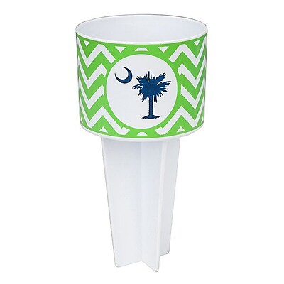 Occasionally Made Palmetto Moon Beach Buddy Cup Holder (Set of 4) WYF078278626333