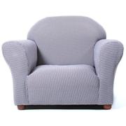 Keet Roundy Ghingham Kid's Club Chair; Brown