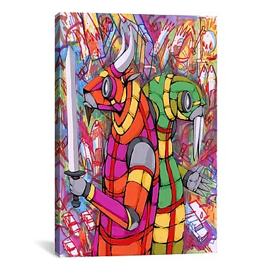 iCanvas Personality Differences Canvas Wall Art by Ric Stultz; 40'' H x 26'' W x 0.75'' D