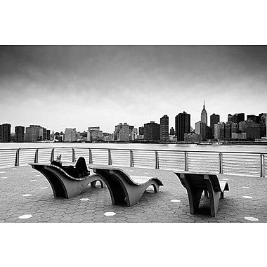 iCanvas New York City Relax by Nina Papiorek Photographic Print on Wrapped Canvas
