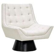 Wholesale Interiors Baxton Studio Tamblin Lounge Chair; Beige