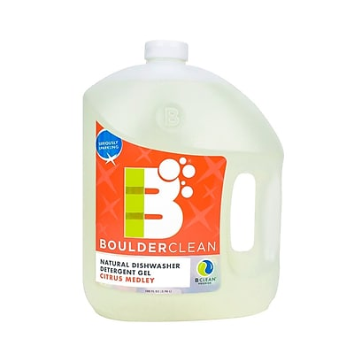 Boulder Clean Natural Dishwasher Detergent Gel Citrus Medley 100 oz