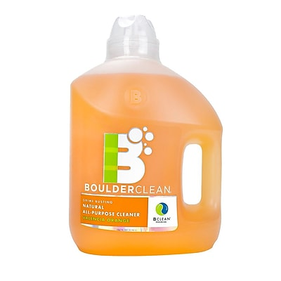 Boulder Clean Natural All Purpose Cleaner Refill Valencia Orange 100 oz