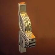 Zoroufy Dynasty 36'' Roped Tubular Stair Rod Set w/Decorative Brackets Urn Finials; Polished Brass
