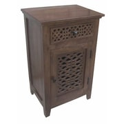 Coast to Coast Imports 1 Door 1 Drawer Cabinet