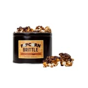 Milk Chocolate Drizzled Brittle Bark Popcorn Tin, 20 oz